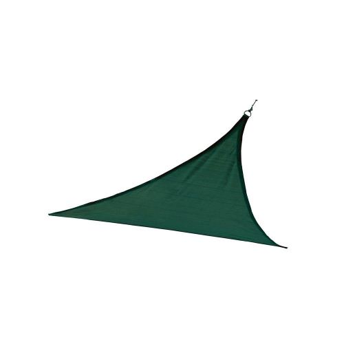 ShelterLogic 12ft Triangle Shade Sail Evergreen 25724 - Excellent Sun shade solution.