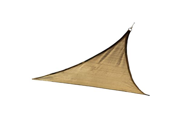 ShelterLogic 12ft Triangle Shade Sail Sand 25720 - Excellent Sun shade solution.