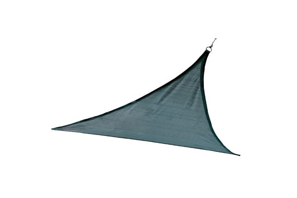 ShelterLogic 12ft Triangle Shade Sail Sea Blue 25733 - Excellent protective sun shade.