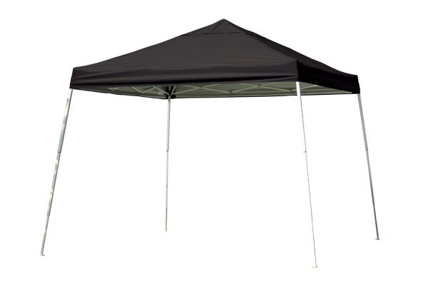 ShelterLogic 12x12 Pop-up Canopy Black 22547 - Perfect for Outdoor use.