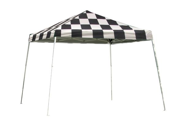 ShelterLogic 12x12 Pop-up Canopy Checkered 22549 - Perfect for Outdoor use.