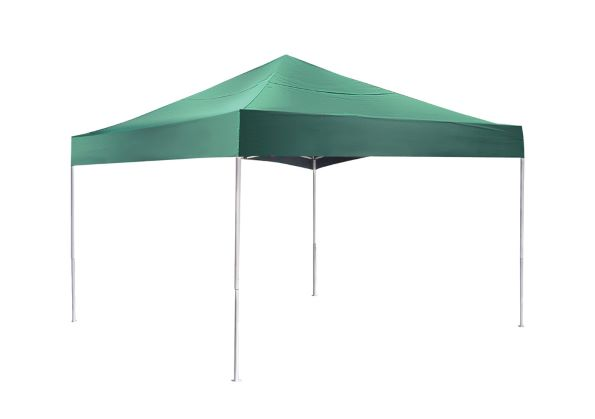 ShelterLogic 12x12 Pop-up Canopy Kit Green 22587 -  Perfect for Outdoor use.