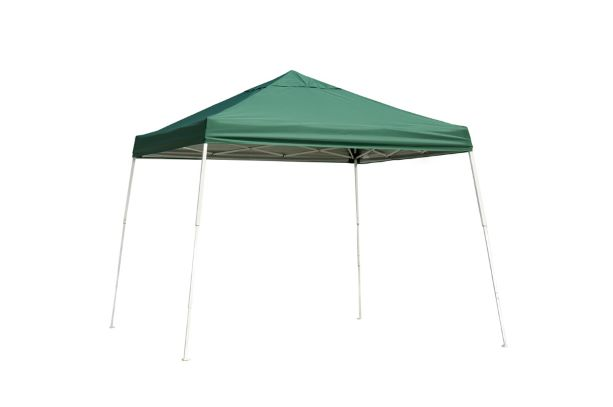 ShelterLogic 12x12 Pop-up Canopy Green 22589 - Perfect for pool parties.