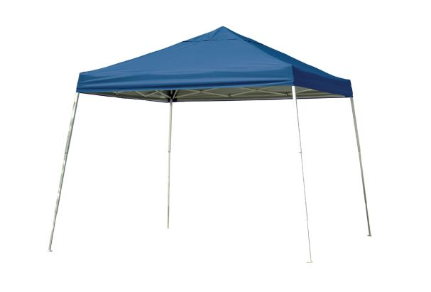ShelterLogic 12x12 Pop-up Canopy Kit Blue 22546 - Perfect for Outdoor use.