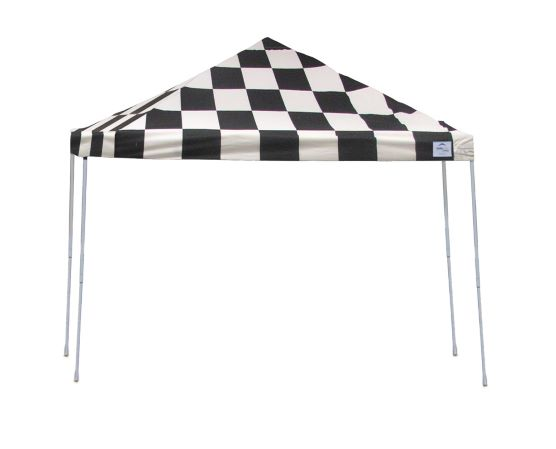 ShelterLogic 12x12 Pop-up Canopy Kit Checkered Flag 22543 - Perfect for Outdoor use.