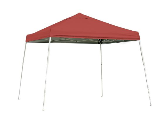 ShelterLogic 12x12 Pop-up Canopy Red 22545 - Perfect for Outdoor use.