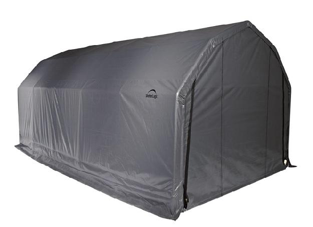 ShelterLogic 12x20x9 Barn Shelter Kit 97053-Perfect storage for your vehicle.