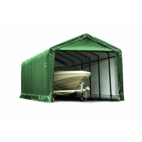 ShelterLogic 12x25x11 ShelterTUBE Storage Shelter Kit Green 62810 - Perfect for large vehicles.
