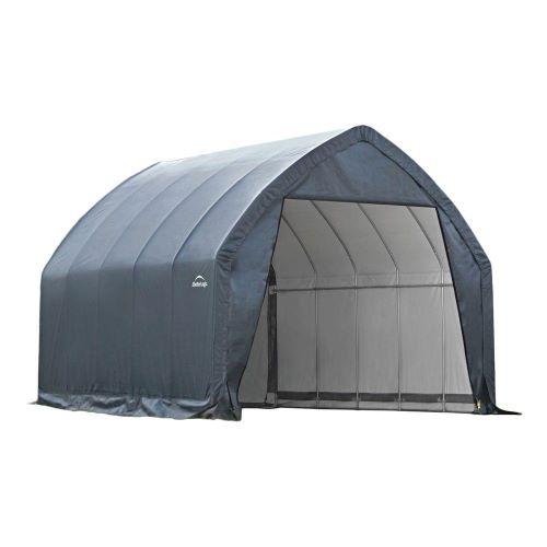 ShelterLogic 13×20×12 SUV / Truck Garage Kit Grey 62693 - Perfect for large vehicles.