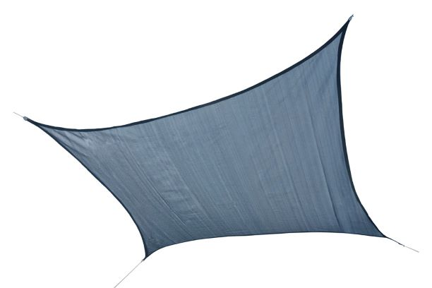 ShelterLogic 16ft Square Shade Sail Sea Blue 25736 - Excellent protective sun shade.