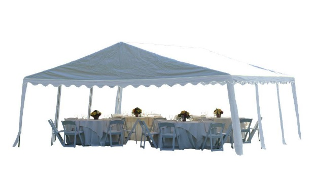 ShelterLogic 20x20 Party Tent Kit White25917-Perfect for party and events.