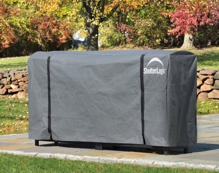 ShelterLogic 8 ft Universal Full Length Cover (90478) Pefect cover for your firewoods.