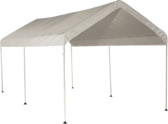 ShelterLogic Max AP 10×20 6 leg Canopy Kit White 25757 - Perfect for Outdoor use.