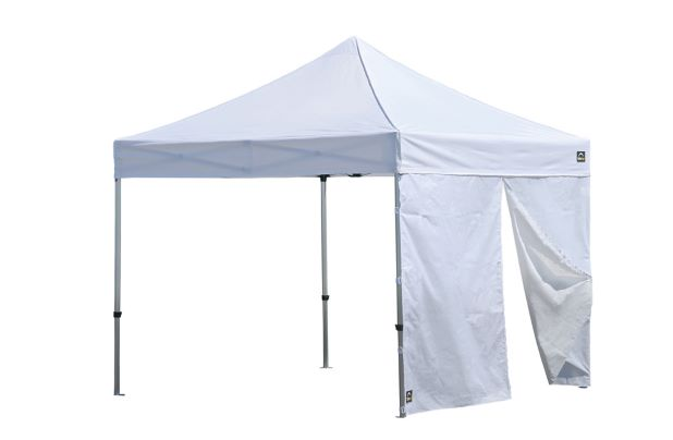 ShelterLogic One Piece Wall Panel with Center Zipper 15701 - Perfect for wind protection.