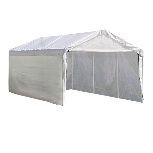 ShelterLogic Super Max 12×20 Canopy Enclosure Kit 25774 - Perfect for Outdoor use.