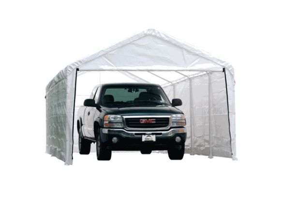 ShelterLogic Super Max 12×26 Canopy Enclosure Kit 25776 - Perfect for Outdoor use.