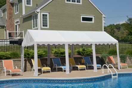 This tent is an affordable solution for hosting any outdoor event or festival.
