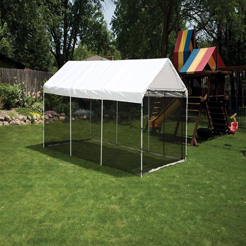 ShelterLogic 10x20 Canopy Kit  - White (23531) This canopy is great for any seasonal shade occasion.