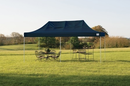 Shelter Logic 10x20 Pop-up Canopy - Black (22536) Protects your furniture from the sun!