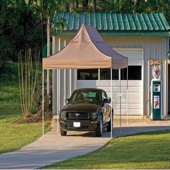 ShelterLogic 10x20 Pop-up Canopy Kit - Bronze (22583) This tent will protect your vehicle from weather elements.