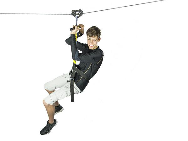 Zip Line Gear 350' Rogue Combo Kit (DRogueKitCH2350)  Enjoy your outdoor activity with your friends with this zip line.